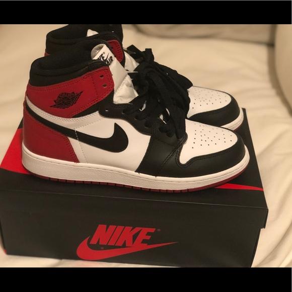 newest 21732 003de Air Jordan 1 Retro High OG BG (Black Toe) 2016. M 5c76137395199687f0256163.  Other Shoes you may like. Nike VaporMax